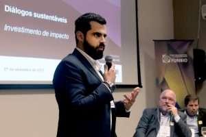 Brasília, 21/09/2017. IV Encontro Diálogos Sustentáveis : Painel Inovação.Fred Seifert/ SITAWI Finanças do Bem Foto : Sergio Amaral/FUNBIO